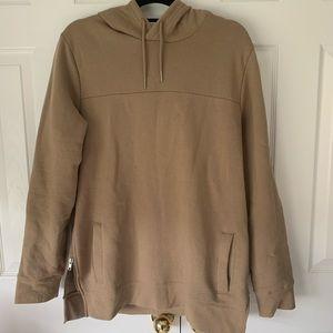 PAC Sun hooded sweatshirt with side pockets zipper